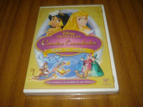 dvd pelicula infantil cuentos encantados (nuevo y sellado)