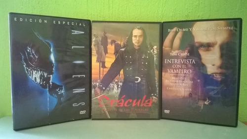 dvd películas terror dracula entrevista aliens jacktoys c