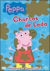dvd peppa pig charcos de lodo estreno original nueva cerrada