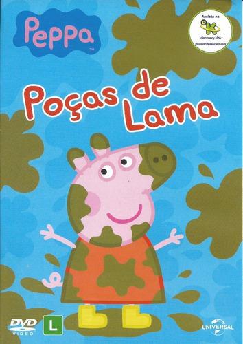 dvd peppa pig - poca de lama e mais historia