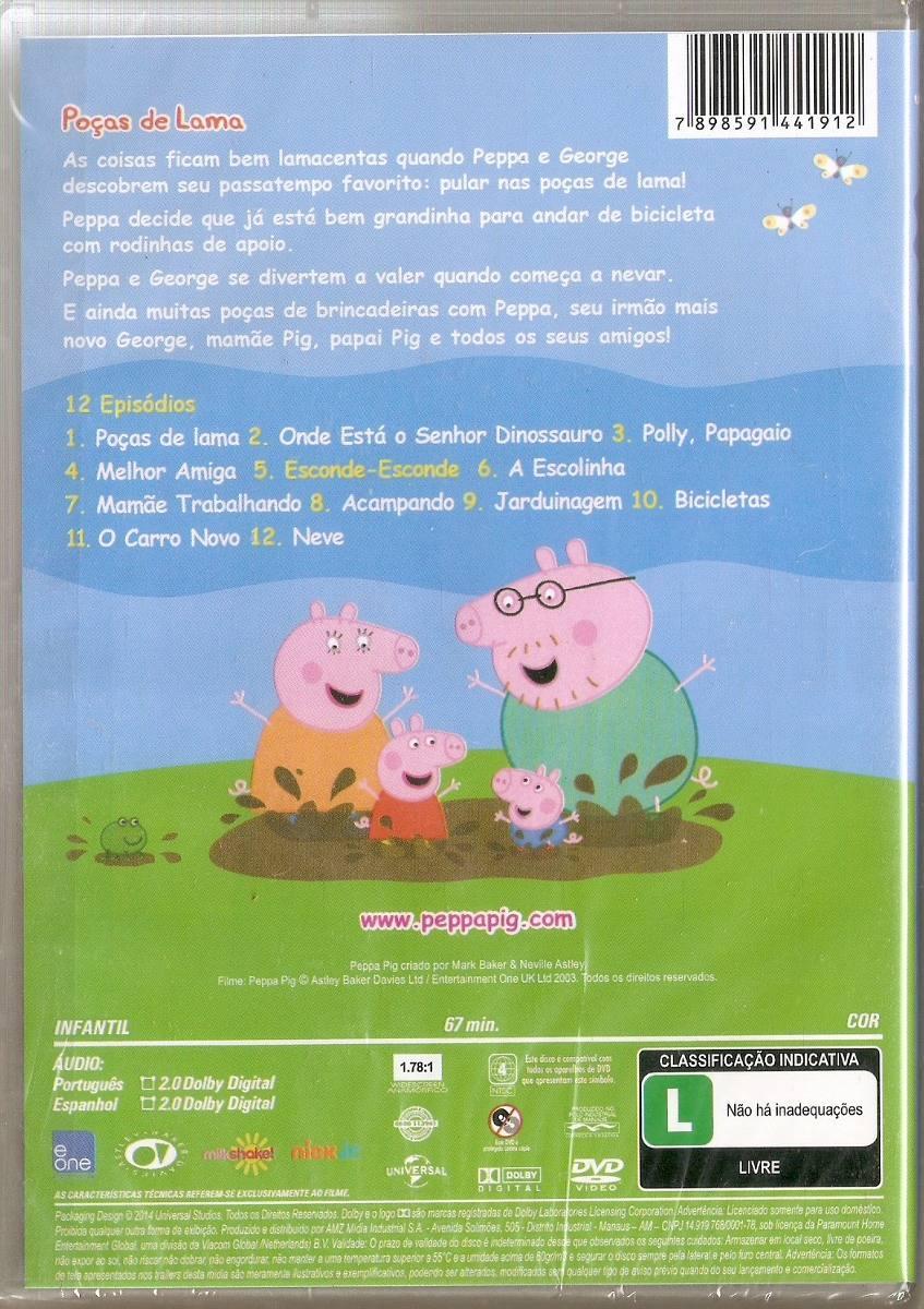 Peppa Pig - Brincando de Bobinho - DVD