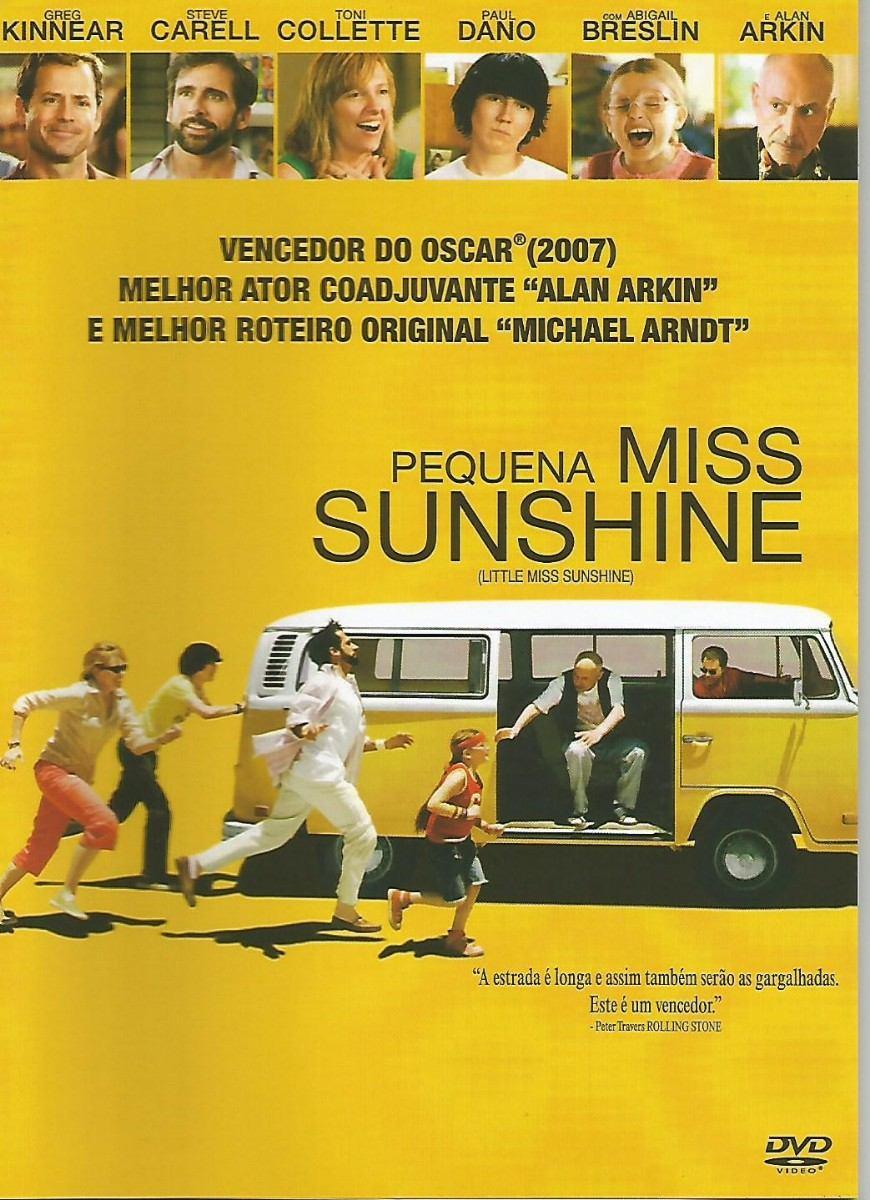 Dvd - Pequena Miss Sunshine - Vencedor Oscar 2007 - Lacrado