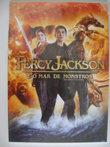 dvd percy jackson e o mar de monstros
