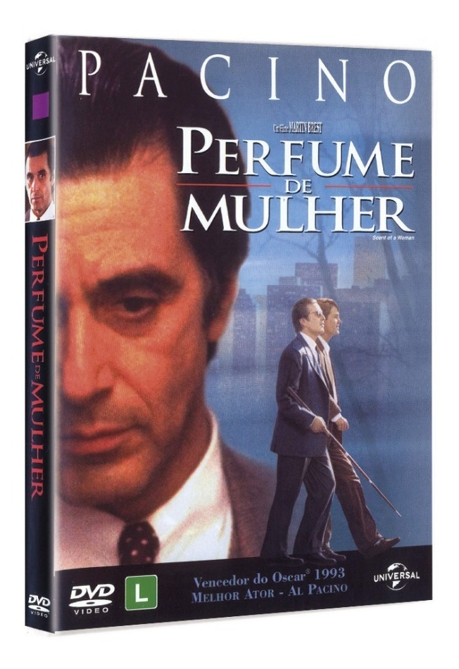 Dvd Perfume De Mulher Al Pacino Novo Lacrado