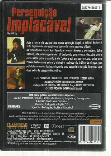 dvd perseguição implacavel