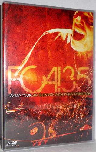 dvd peter frampton - fca!35 tour: an evening with...