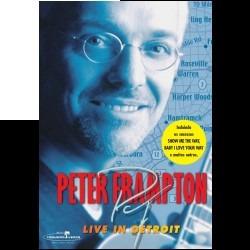dvd peter frampton - live in detroit