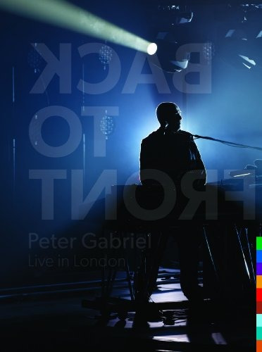 dvd : peter gabriel - back to front: live in london (with...