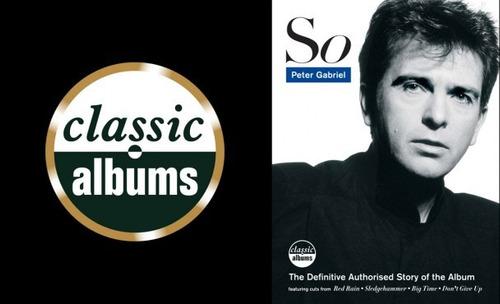 dvd peter gabriel - so (classic albums) 35 minutos de extras
