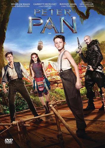dvd peter pan  amanda seyfried  hugh jackman nueva original