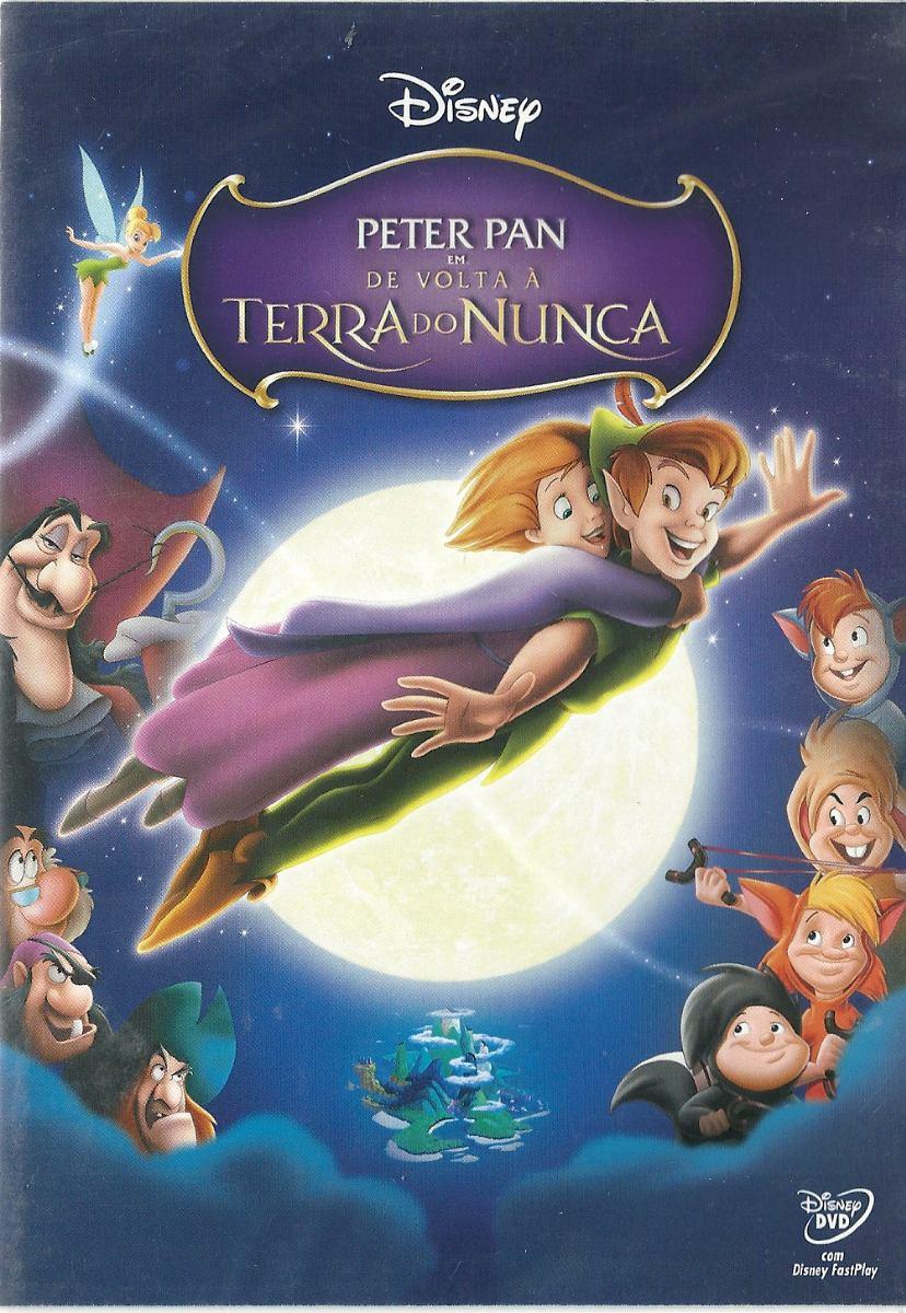 Dvd Peter Pan De Volta A Terra Do Nunca Walt Disney