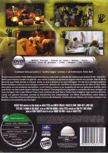 dvd - petter bell e o bando da mao negra - ( peter bell )