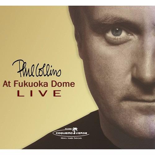 dvd phil collins at fukuoka dome live r$ 19,90 + frete
