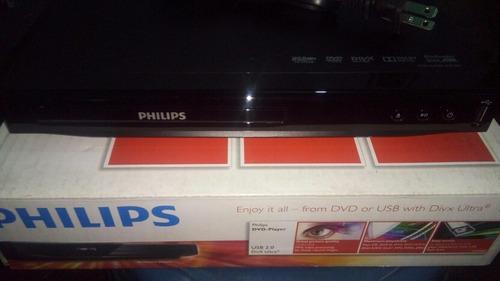 dvd philips dvp2851 puerto usb nuevo!!