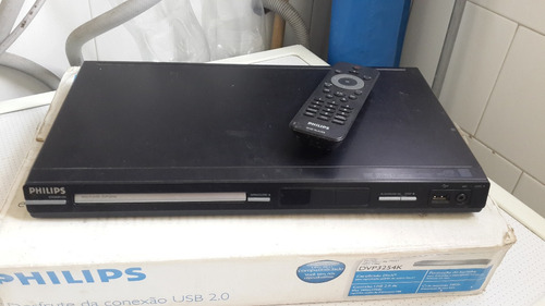 dvd philips modelo 3254k como nuevo con su control y caja