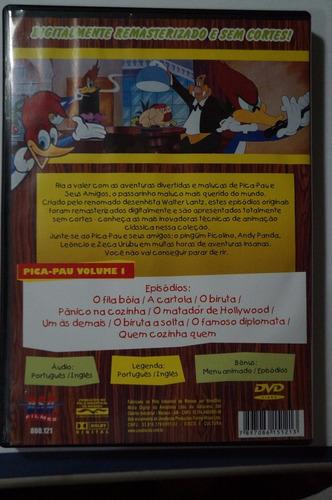 dvd pica-pau e seus amigos vol.1 dublado