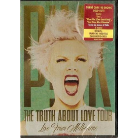 Dvd Pink - The Truth About Love Tour Live (lacrado)