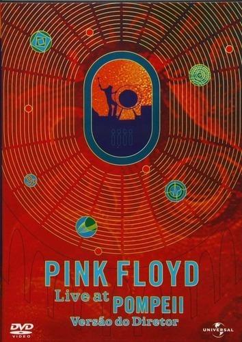 dvd pink floyd - live at pompeii   versão do diretor