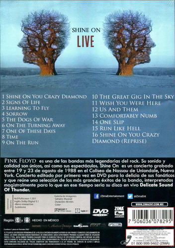 Pink Floyd - Shine On Live (DVD/2CD) / Our Blog | Spin CDs