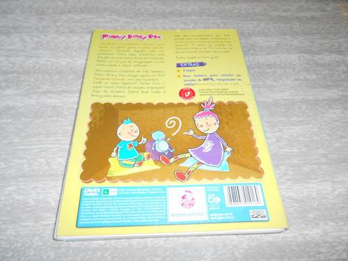 dvd - pinky dinky doo  - pensando grande