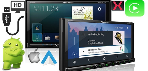 dvd pioneer avh-z5080tv bluetooth waze spotif tv digital