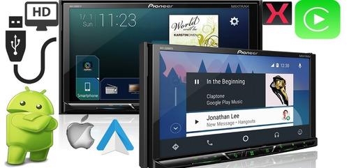 dvd pioneer avh- z5180 tv 7 pol bt tv waze spotify 5180 novo