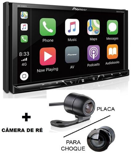 dvd pioneer avh-z5180tv waze spotify câmera ré 2019 usb 12x.
