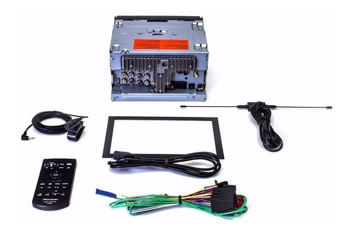 dvd pioneer avhz5280tv + bt + mold.2 din  corolla gli