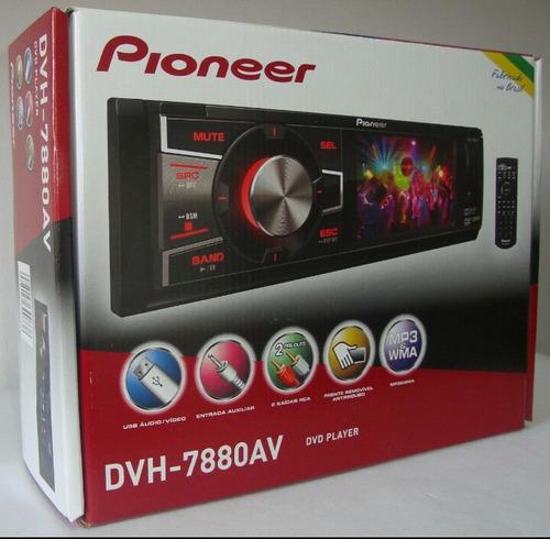 dvd pioneer dvh 7880av