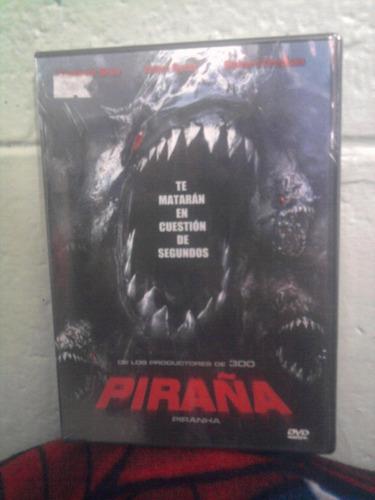 dvd piraña terror ficción monstruos mutantes tiburón
