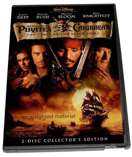 dvd piratas del caribe 1