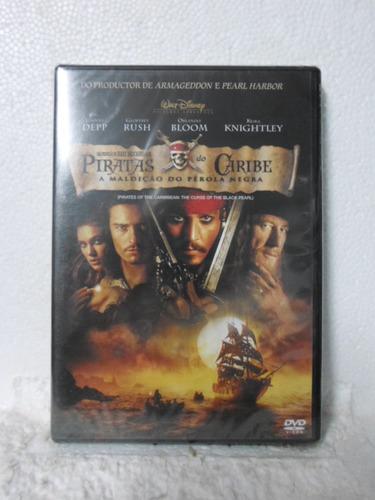 dvd piratas do caribe - a maldição do perola negra - lacrado