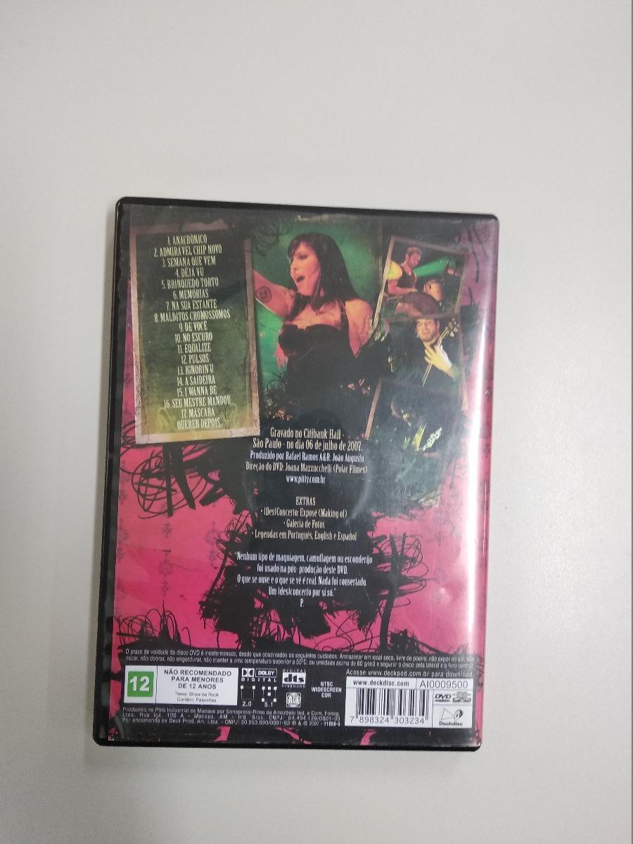 DVD VIVO BAIXAR PITTY DESCONCERTO
