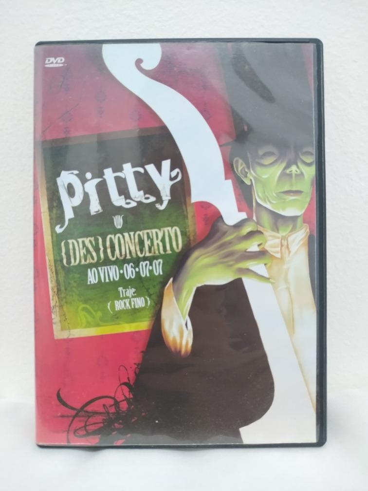 dvd pitty desconcerto ao vivo