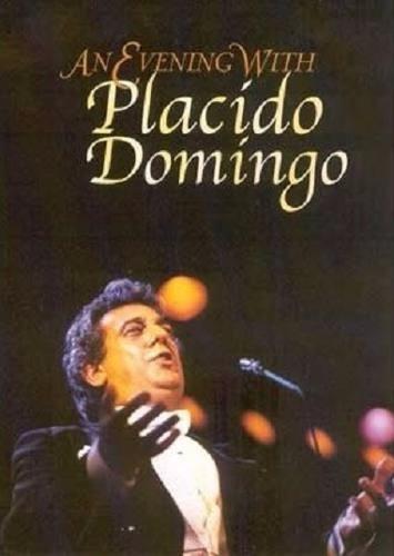 dvd - placido domingo - an evening with - lacrado