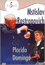 dvd  placido domingo with mstislav rostropovich: gala perfor