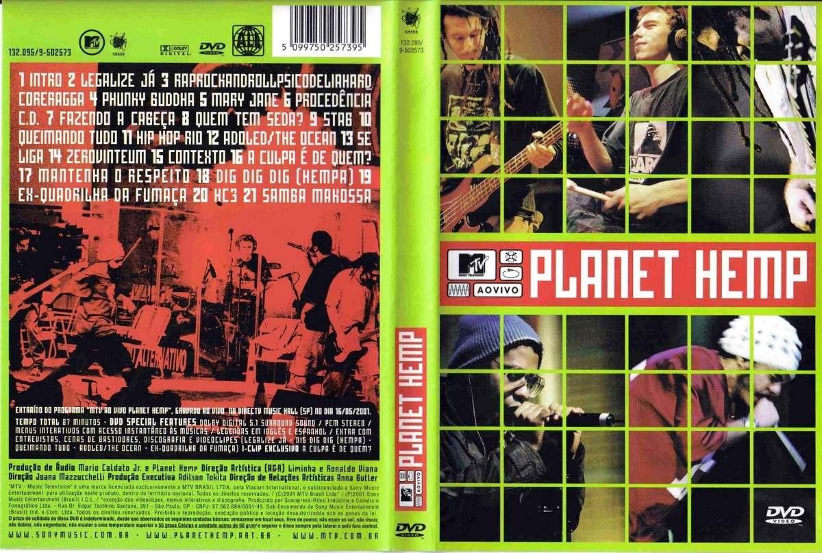 dvd do planet hemp ao vivo mtv