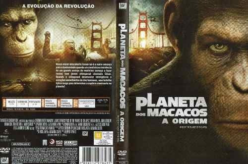 dvd - planeta dos macacos a origem