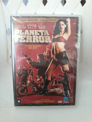 dvd planeta terror - robert rodriguez