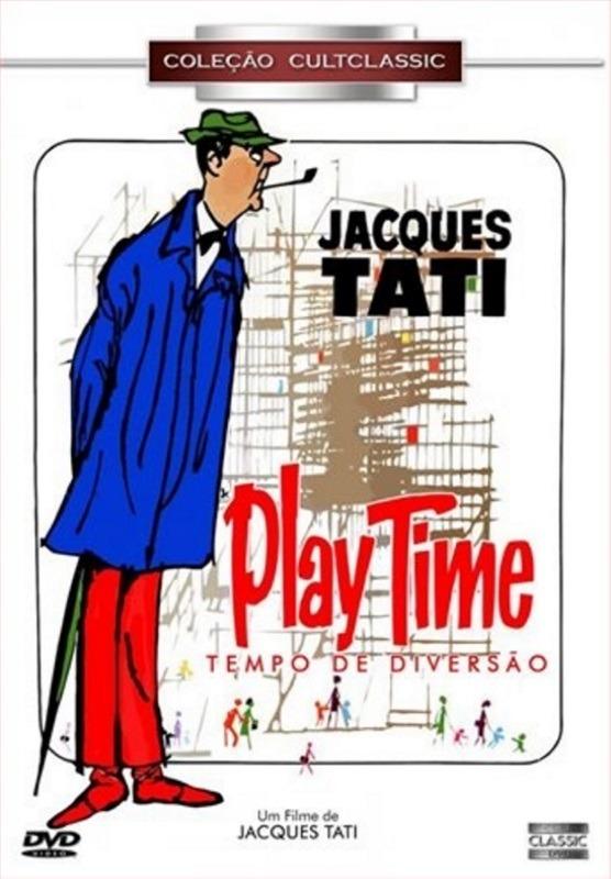 Resultado de imagem para playtime /tempo de diversão /Direção Jacques Tati