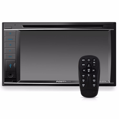 dvd player 2 din 6,2 sp8720dtv bluetooth usb sd aux positron