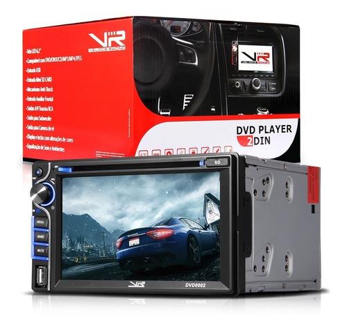 dvd player 2 din 6,2  usb bluetooth