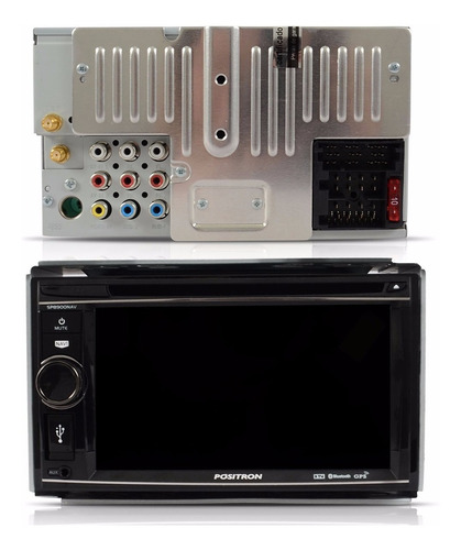 dvd player 2 din tv digital bluetooth usb gps 6.2 positron