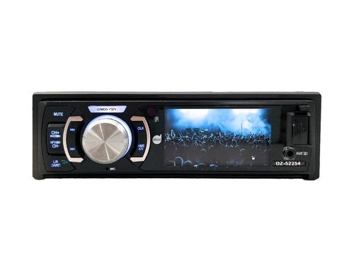 dvd player automotivo 3 pol bluetooth dazz frente destacavel