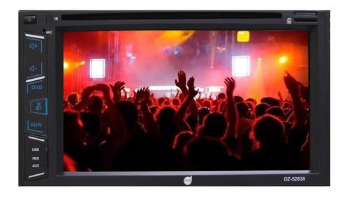 dvd player automotivo dazz 6.2  mirror android bt - dz-52838
