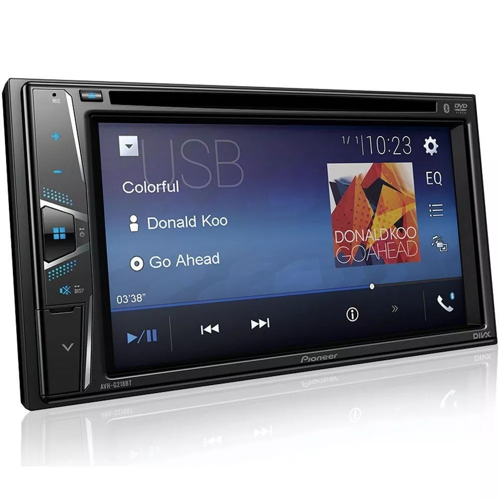 4d77f265e dvd player automotivo pioneer avh-g218bt bluetooth 2din usb. Carregando  zoom.