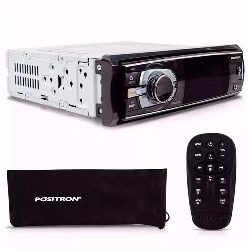 dvd player automotivo positron bluetooth usb 3 pol sp4330