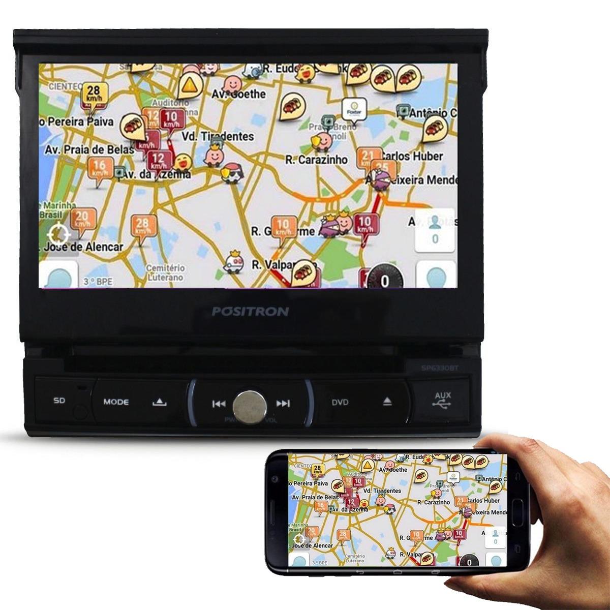 fc4616e3b1 dvd player automotivo retratil positron sp6720 tv usb touch. Carregando  zoom.