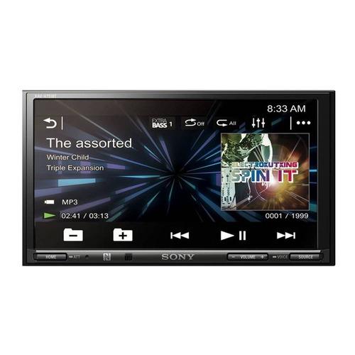 dvd player automotivo sony xav-v751bt 7.0  usb
