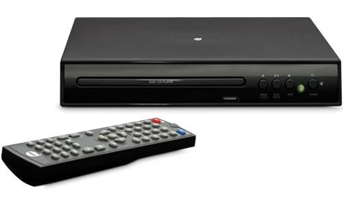 dvd player dazz - usb - preto - de vitrine